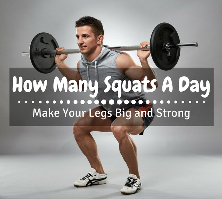 How Many Squats A Day
