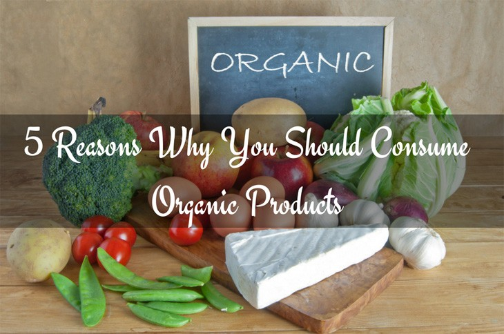 5 Reasons Why You Should Consume Organic Products