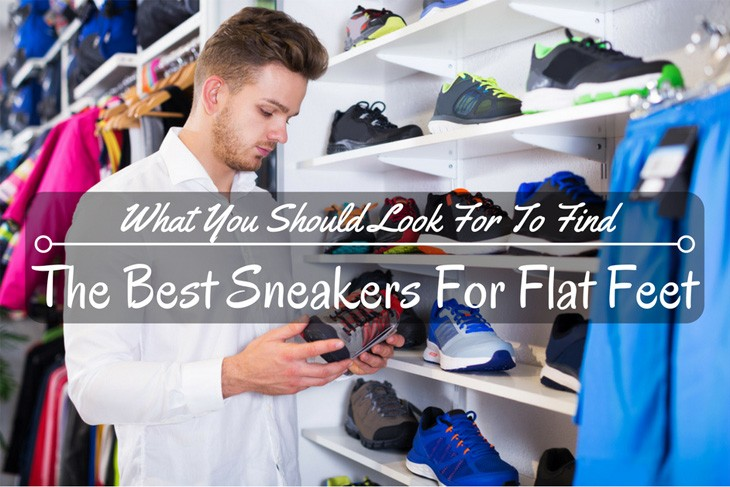 Best Sneakers For Flat Feet