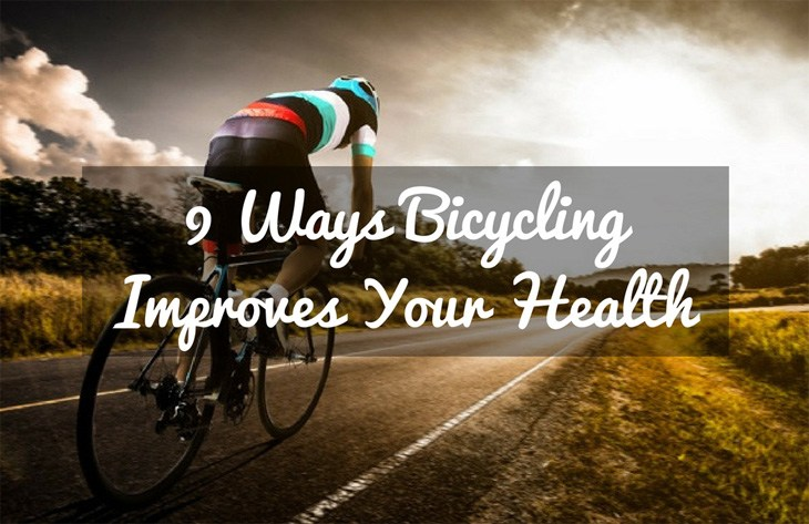 9 Ways Bicycling Improves Your Health