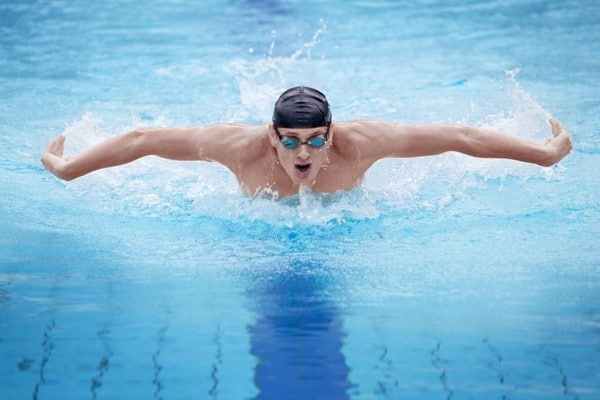 Try Building Lean Muscle In A Pool