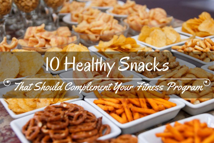 10 Healthy Snacks