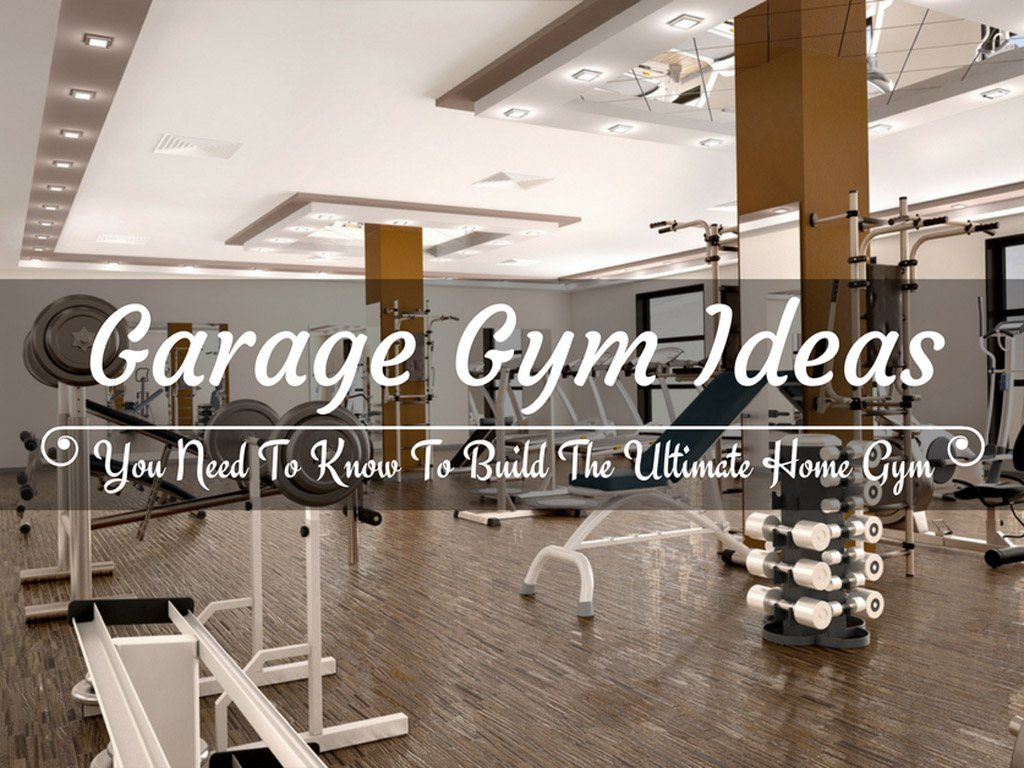 Lovely garage gym ideas collections design
