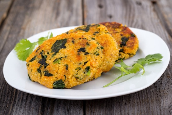 Healthy Snacks - Sweet Potato Quinoa Cakes